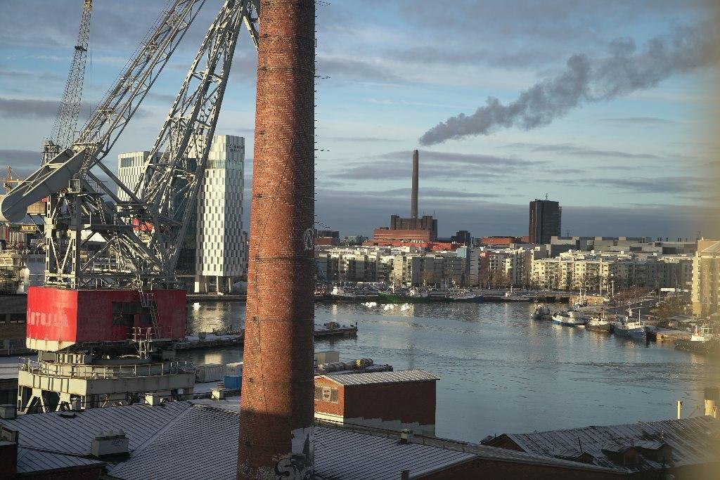 industrial korkeaa toimistotilaa punavuoressa vuokrattavana