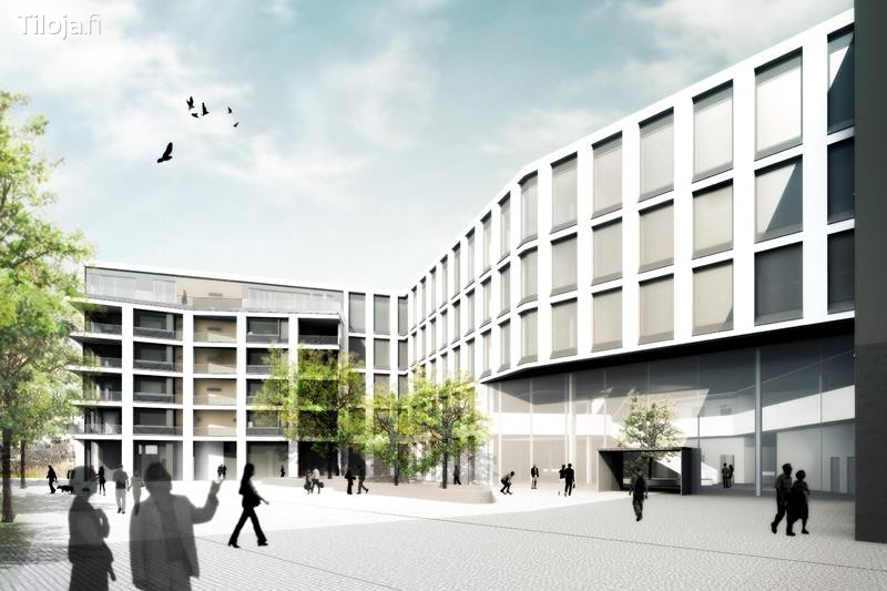 vapaata uutta upeaa  toimistotilaa helsingin keskustassa alvar aallon katu 5 töölönlahdenkatu 3