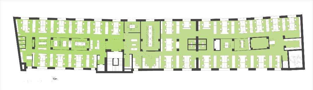 Töölössä siistiä toimistotilaa vapaana 500 m2 1000 m2 . Erinomainen sijainti Töölössä.